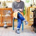 因島 陶芸家のデニム