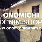 ONOMICHI DENIM SHOP 臨時休業のお知らせ